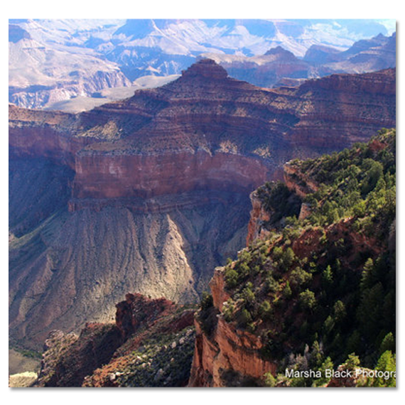 Photo of Evening in the Grand Canyon   Credit: Marsha J Black