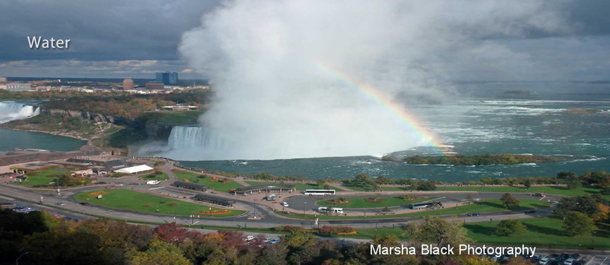 Water-Niagara-Falls-with-rainbow-Marsha-J-Black-900