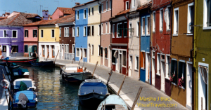 Burano, Italy, the Traditional <br />Lace-Making Island