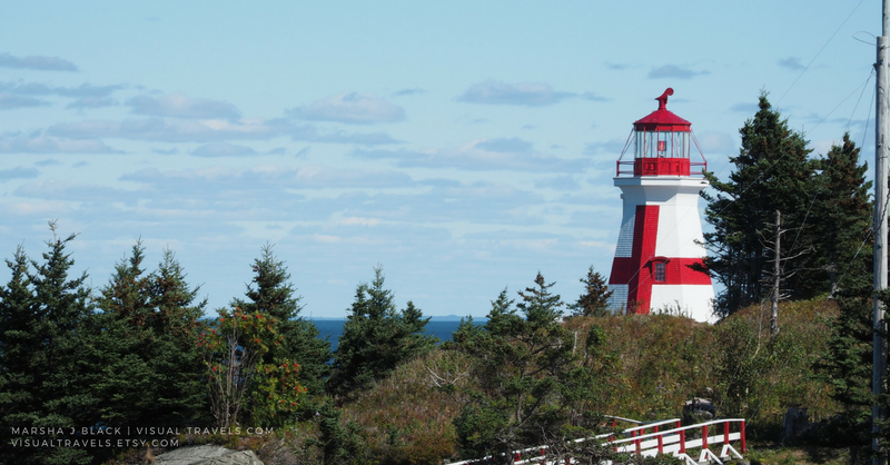 Image of Lighthouse at Campobello Island, New Brunswick, Canada by photographer Marsha Black March Featured Artist at the Bakersfield Art Association
