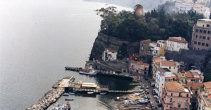 Photo: Sorrento, Italy and harbor | Marsha J Black