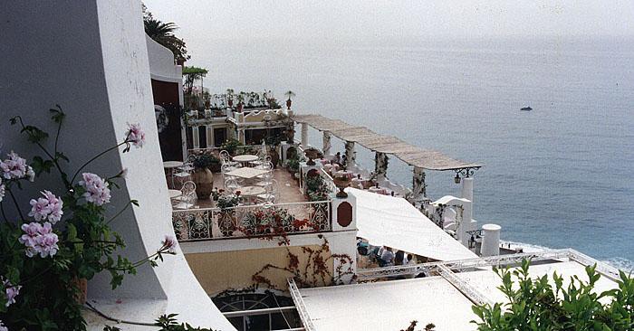Photo: View from the Hotel Sirenuse Terrace in Positano, Italy | Photo: Marsha J Black, Visual Travels™
